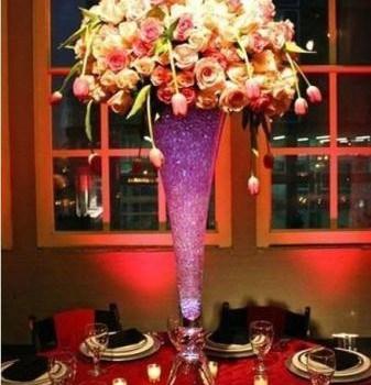 Billige høje glas vaser