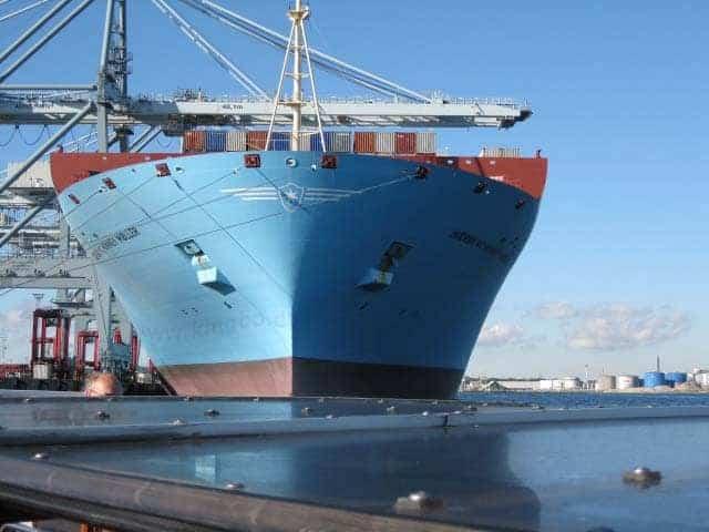 Verdens største containerskib