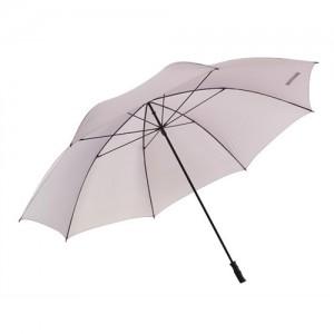 lys grå bryllups paraply