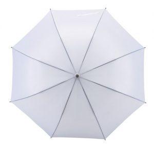 hvid paraply