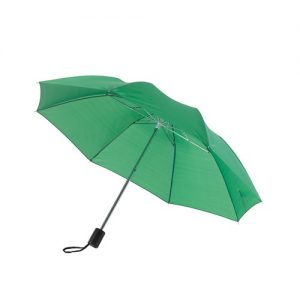 ensfarvet paraply