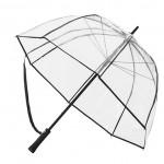 Retro transparent paraply