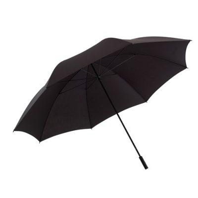 stor grå paraply