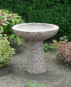 fuglebad granit