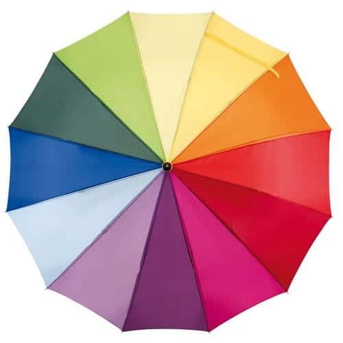 Regnbueparaply luksus