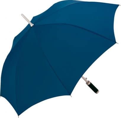klassisk blå paraply
