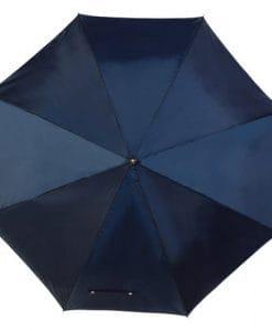 Navy golf paraply