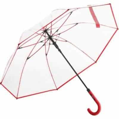 gennemsigtig designer paraply