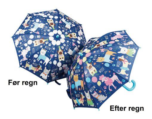 Børne paraply kæledyr