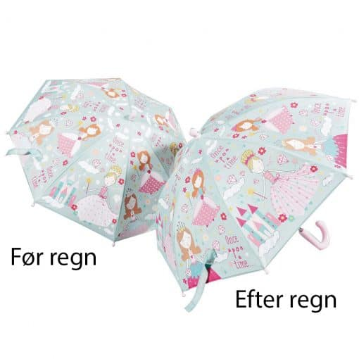 prinsesse børne paraply