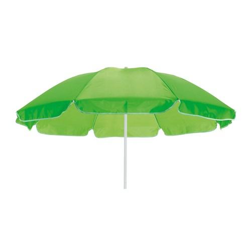 lyse grøn strand parasol