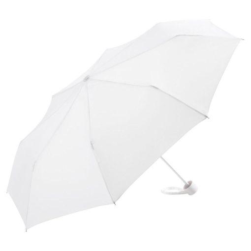 hvid mini paraply