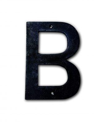 Facadebogstaver B